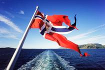 Bild: Norwegen per Hurtigrute