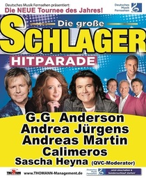 Bild: Deutsches Musikfernsehen pr�sentiert: Die gro�e Schlager Hitparade - mit Andrea J�rgens, Andreas Martin, G.G. Anderson und die Calimeros
