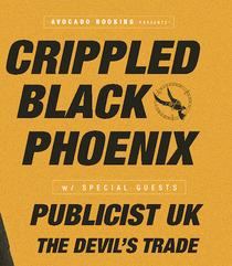 Bild: CRIPPLED BLACK PHOENIX - w/ special guests Publicist UK, The Devil�s Trade