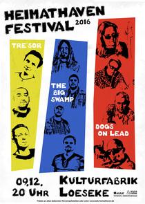 Bild: HEIMATHAVEN Festival 2016 - Dogs On Lead + The Big Swamp + Tre�sor