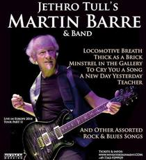 Bild: Jethro Tull�s Martin Barre Band - An Evening of Blues-Rock-Tull