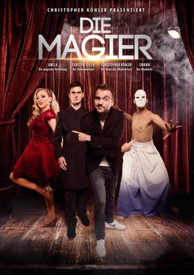 Bild: Die Magier - eine magische und unglaublich unterhaltsame Show