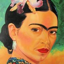 "Bild: Wallgrabens Kunst-St�cke: ""Frida Kahlo"""
