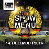 Bild: Show & Men�  - DDR Dinner - DDR - Show & Men� Dezember 2016