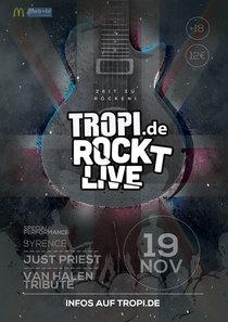 Bild: TROPI ROCKT LIVE - powered by Bluemusic Concert