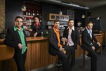 Bild: Das GlasBlasSing Quintett - Volle Pulle - Flaschenmusik XXL
