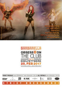 """Bild: OBSESSION – THE CLUB Vol. 25 """"Barbarella"""" - Probably one of the most famous metrosexual Fetish Happengs in Germany"""