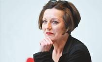 Bild: Die Literaturnobelpreisträgerin im Gespräch