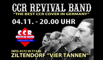 Bild: CCR REVIVAL BAND Live @ 4 Tannen, Ziltendorf - A Night with the Songs of CCR and John C Fogerty
