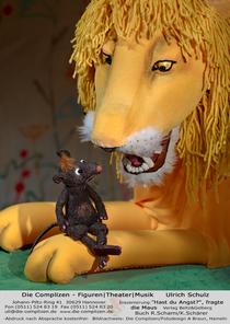 Bild: Hast du Angst?, fragt die Maus