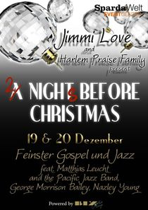 Bild: 2 nights before Christmas - mit Jimmi Love's Harlem Praise Family feat. Nazley Young
