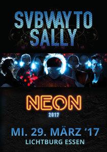 Bild: SUBWAY TO SALLY - NEON - Ekustik Tour 2017