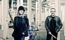 Bild: Karolina Strassmayer & Drori Mondlak - Klaro! - Jazz-Quartett