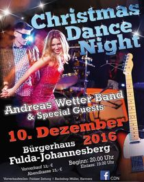 Bild: Christmas Dance Night - Andreas Wetter Band & Special Guests