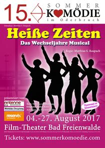 Bild: 15. Sommerkomödie im Oderbruch - Heiße Zeiten- Das Wechseljahre Musical/ Premiere