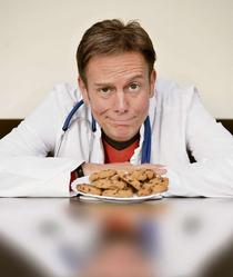 Bild: Dr. Carsten Lekutat - Meine besten Hausarzttipps, oder: wie Kekse Ihr Leben retten können. Die Show.