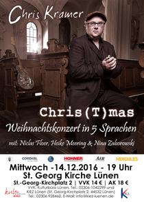 Bild: Chris(t)mas - internationales Weihnachtskonzert in 5 Sprachen