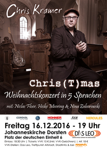 Bild: Chris(t)mas - internationales Weihnachtskonzert in 5 Sprachen