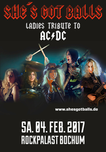 Bild: SHE'S GOT BALLS - Ladies Tribute To AC/DC