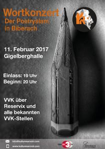 Bild: Wortkonzert No. 13 - Der Poetry Slam in Biberach
