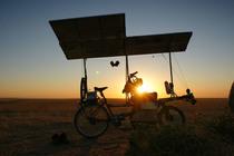 Bild: Sonnenwind - Mit dem Solarbike gen Kasachstan
