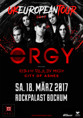 Bild: ORGY - Europe UK Tour 2017