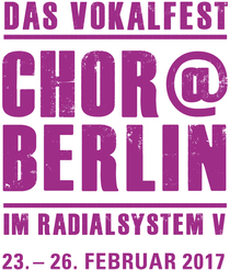 Bild: Chor@Berlin 2017: Konzertdesign