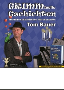 Bild: Grimminelle Gschichten - gelesen vom Autor Tom Bauer