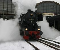 Bild: Nikolaus-Express - Dampfsonderzug von Wiesb. Hbf nach Idstein und zur�ck