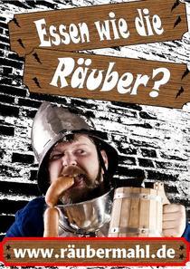 Bild: Das R�ubermahl - Essen wie die R�uber