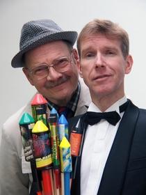 Bild: Peter Vollmer & Hr. Heuser vom Finanzamt - DIE KNALLER DES JAHRES - Eine satirische Bilanz