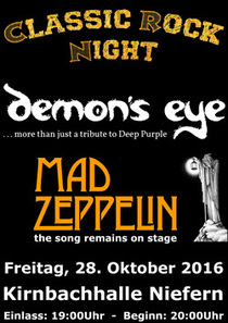 Bild: Classic Rock Night with - demon�s eye and mad zeppelin
