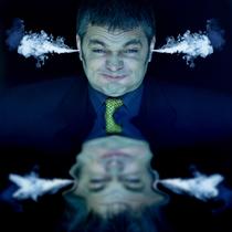 Bild: Werner Brix - Mit Vollgas zum Burnout