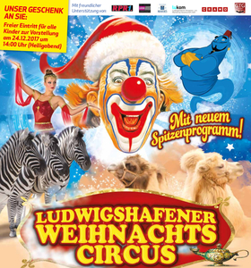 Bild: Ludwigshafener Weihnachtscircus - mit neuem Spitzen-Programm