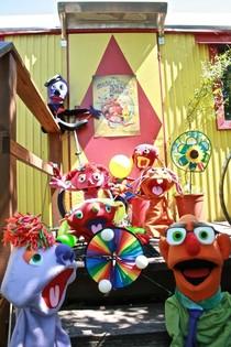 Bild: Mocky�s Zirkusshow - Puppentheater f�r Kinder von 3-7 Jahren