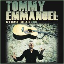 Bild: TOMMY EMMANUEL - feat. Ian Cooper - special guest Frano Zivkovic