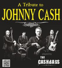 Bild: The Cashbags - A Tribute to Johnny Cash - mit US-S�nger Robert Tyson & Band