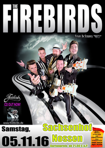 Bild: The Firebirds - Live - 2016