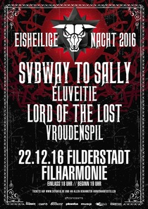 Bild: Eisheilige Nacht 2016 - Subway to Sally, Eluveitie, Lord of the Lost, Vroudenspil