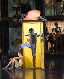 Bild: KeimZeit - Ballett von Silvana Schr�der, Live-Musik von und mit Keimzeit