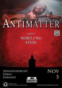 "Bild: An acoustic evening of ANTIMATTER - live at the church ""Johanniskirche"""