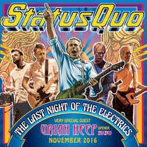 Bild: STATUS QUO & very special guest URIAH HEEP - THE LAST NIGHT OF THE ELECTRICS TOUR 2016