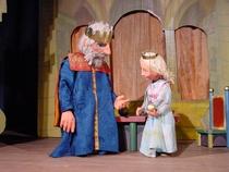 Bild: Der Froschk�nig - Figurentheater