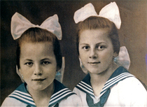 Bild: Gro�e, kleine Schwester - wortarten