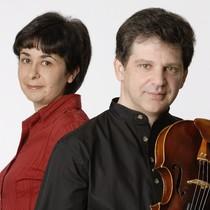 Bild: Duo Kalinowsky - Semjon Kalinowsky (Bratsche) und Bella Kalinowsky (Klavier)