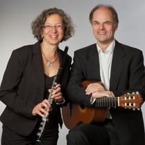 Bild: Duo-Abend - Fl�te / Gitarre - Christiane Carstensen (Fl�te) und Ulf Mummert (Gitarre)