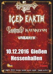 Bild: MTV`s Headbangerball Tour 2016 - ICED EARTH, ENSIFERUM, KATAKLYSM, UNEARTH