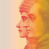 Bild: Die Leiden des jungen Werther  - Ein Gespr�ch im Hause Stein �ber den abwesenden Herrn von Goethe - Doppelabend