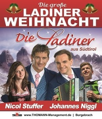 Bild: Die gro�e Ladiner Weihnacht - mit Die Ladiner, Jonny Hill, Nicol Stuffer und Robin Leon