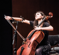 Bild: Bruckner Akademie Orchester - Jordi Mora, Leitung; Mariona Camats, Violoncello